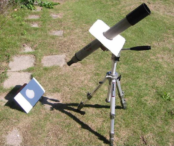 how to build box for viewing solar eclipse