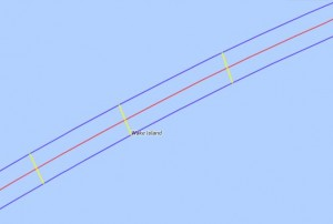 Total Eclipse Path - Wake Island